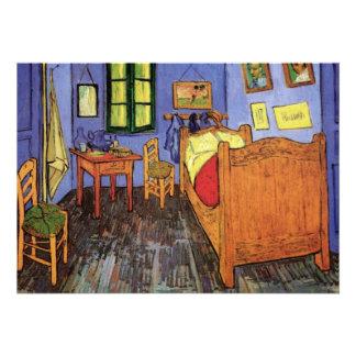 Van Gogh Vincent s Bedroom Housewarming Party Custom Invite