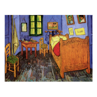 Van Gogh Vincent s Bedroom in Arles Vintage Art Post Card
