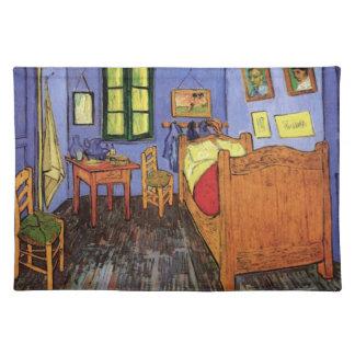 Van Gogh Vincent's Bedroom in Arles, Fine Art Placemat