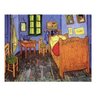 Van Gogh; Vincent's Bedroom in Arles, Vintage Art Custom Announcement