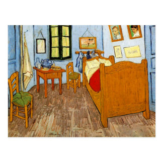 Van Gogh - Vincent's Bedroom Postcard