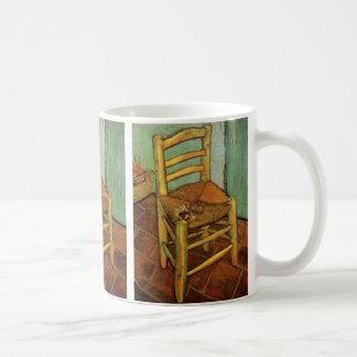 Van Gogh; Vincent's Chair with Pipe, Vintage Art Coffee Mug