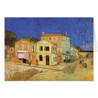 Van Gogh Vincent's House in Arles, Fine Art Card