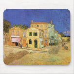 Van Gogh; Vincent's House in Arles (Yellow House) Mousepads