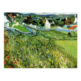 Van Gogh Vineyards with a View of Auvers Postcards