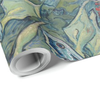 Van Gogh Vintage Great Peacock Moth Wrapping Paper