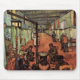 Van Gogh; Ward in the Hospital in Arles Mouse Pad
