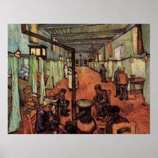 Van Gogh; Ward in the Hospital in Arles Poster