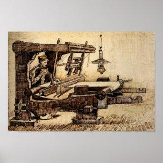 Van Gogh - Weaver Poster