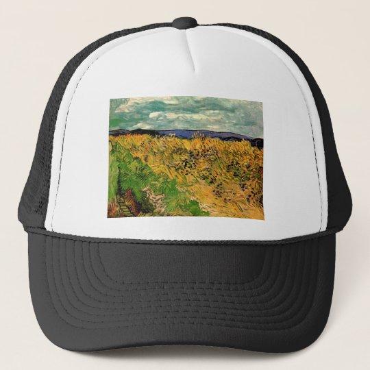Van Gogh Wheat Field Cornflowers, Vintage Fine Art