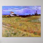 Van Gogh Wheat Field Poster