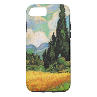 Van Gogh Wheat Field w Cypresses at Haute Galline iPhone 8/7 Case