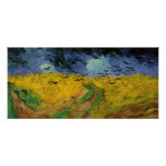 van Gogh - Wheat Field with Crows (1890) Posters