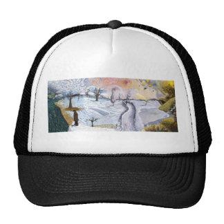 Van Gogh: Winter Landscape Cap