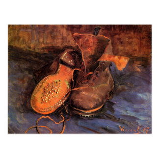 Van Gogh's 'A Pair of Shoes' Postcard
