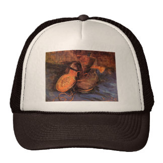 Van Gogh's 'A Pair of Shoes' Trucker Hat
