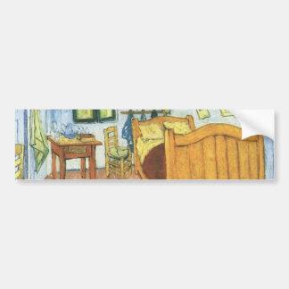 Van Gogh's Bedroom in Arles Bumper Sticker