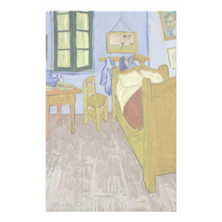 Van Gogh's Bedroom in Arles by Vincent Van Gogh 14 Cm X 21.5 Cm Flyer