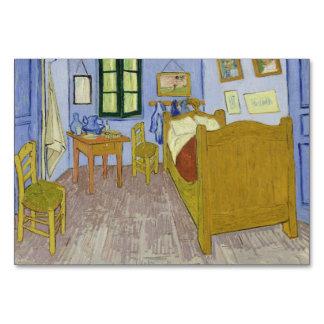 Van Gogh's Bedroom in Arles by Vincent Van Gogh Table Card
