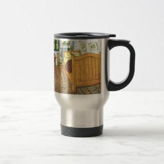 Van Gogh's Bedroom in Arles 15 Oz Stainless Steel Travel Mug