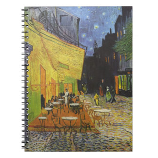 Van Gogh's Cafe Terrace Journal Note Book