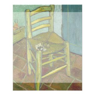 Van Gogh's Chair by Vincent Van Gogh 11.5 Cm X 14 Cm Flyer
