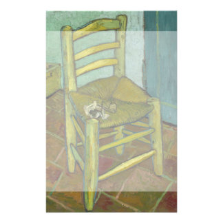 Van Gogh's Chair by Vincent Van Gogh 14 Cm X 21.5 Cm Flyer