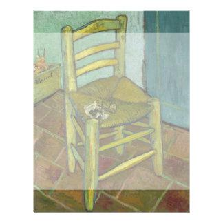 Van Gogh's Chair by Vincent Van Gogh 21.5 Cm X 28 Cm Flyer
