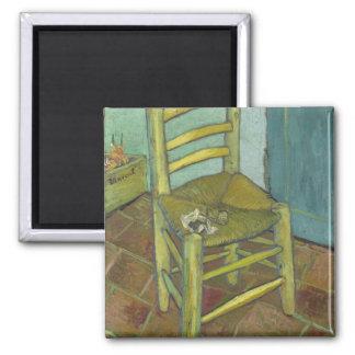 Van Gogh's Chair by Vincent Van Gogh Fridge Magnet