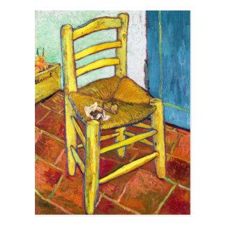 Van Gogh's Chair  Vincent van Gogh  fine art Postcard