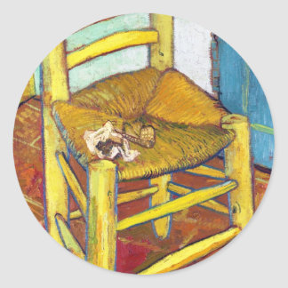 Van Gogh's Chair  Vincent van Gogh  fine art Stickers