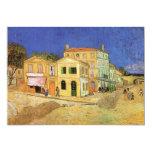 Van Gogh's House in Arles, Housewarming Party 13 Cm X 18 Cm Invitation Card