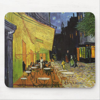 Van Gogh's Night Cafe Mouse Pad