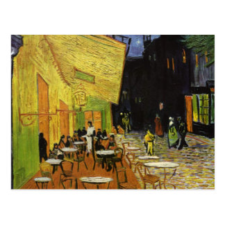 Van Gogh's Night Cafe Postcard