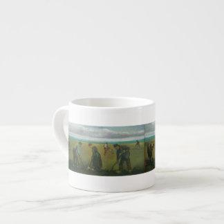 Van Gogh's Peasants or Farmers Planting Potatoes Espresso Mug