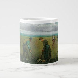 Van Gogh's Peasants or Farmers Planting Potatoes Jumbo Mug