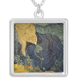Van Gogh's 'Portrait of Dr. Gatchet' Necklace