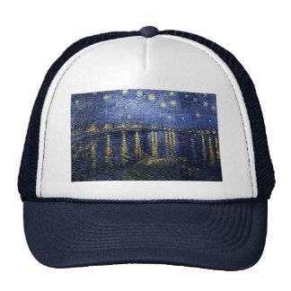 Van Gogh's 'Starry Night Over the Rhone' Hat Trucker Hat