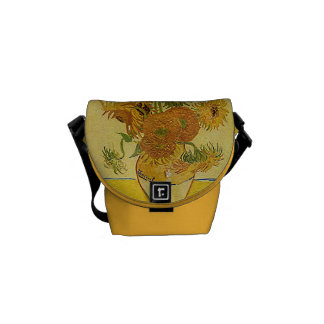 Van Gogh's 'Sunflowers' Courier Bag