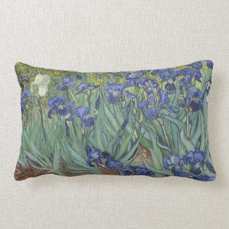 Van Goh Blue Irises Garden Themed Pillow