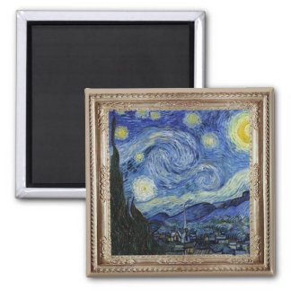 Van Gough Starry Night Masterpiece Magnet