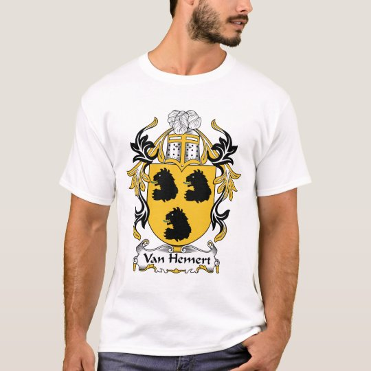 Van Hemert Family Crest T-Shirt