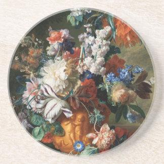 Van Huysum's Bouquet of Flowers coaster