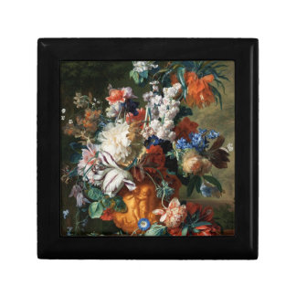 Van Huysum's Bouquet of Flowers gift / jewelry box