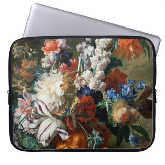 Van Huysum's Bouquet of Flowers laptop sleeve
