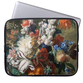 Van Huysum's Bouquet of Flowers laptop sleeve
