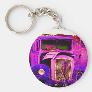 van purple keychain