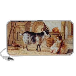 Van Strij: Two Goats in a Yard, iPhone Speaker