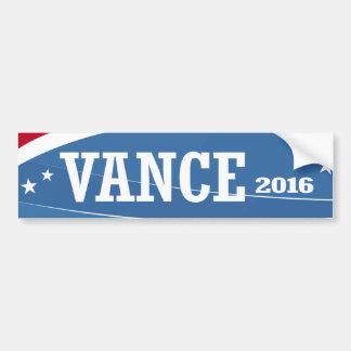 Vance - Chris Vance 2016 Bumper Sticker