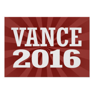 Vance - Chris Vance 2016 Poster